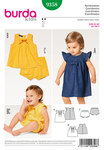 Burda 9358. Dress, Blouse, Panties.