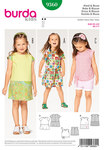 Burda 9360. Dress, Blouse, Gathered Skirt, Bands.