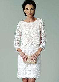 Butterick pattern: Overlay-Bodice Dresses