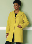 Drop-Shoulder, Shawl Collar Coat with In-Seam Pockets
