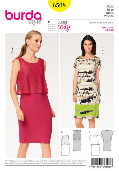 Dress with Extra Top