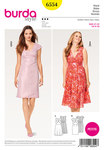 Burda 6554. Dress, Strap Dress, Shift– Petite/Short Sizes.