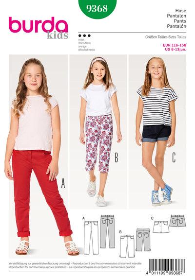 Pants/Trousers, Jeans, Shorts, 3/4-Pants/Trousers