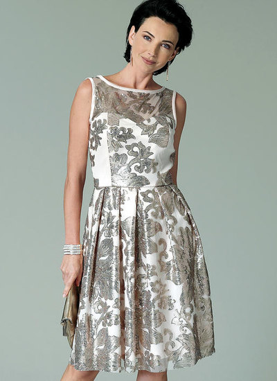 Sweetheart-Neckline, Pleated-Skirt Dresses
