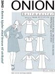 Retro dresses with collar