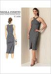Vogue 1498. Criss-Cross Strap Dress - Nicola Finetti.