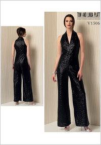 Sleeveless Wide-Leg Jumpsuit - Tom and Linda Platt. Vogue 1506.