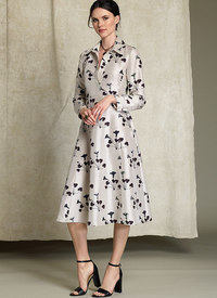Vogue 1511. Half-Placket, Long Sleeve Shirtdress - Rachel Comey.