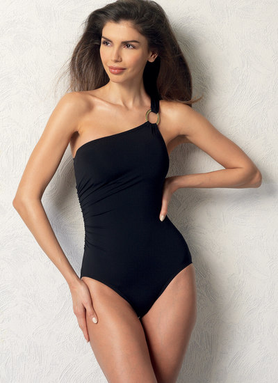 Wrap-Top Bikini, One-Piece Swimsuits, and Cover-Ups