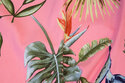 Bengalin-stretch in light red with big leaves