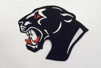 Big black panther patch 11x11