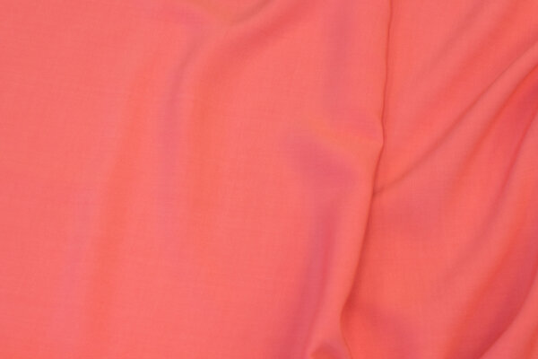 Blouse-viscose in coral-color
