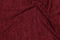 Bordeaux speckled winter-knit