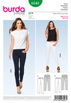 Burda 6543. Skinny Pants/Trousers, Jeans.