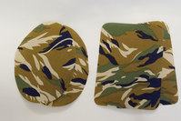 Camouflage patch green 9 x 11 cm