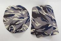 Camouflage patch grey 9 x 11 cm