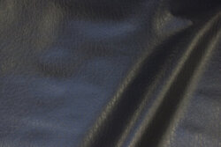 Charcoal coated fabric in hide-look