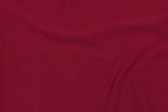 Cherry-red cotton-jersey