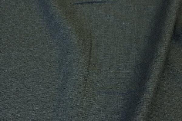 Dark olive-colored linen