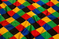 Harlekin satin 10 cm checkers in strong colors