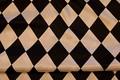 Harlekinpattern in cotton/viscose.  12cm pattern