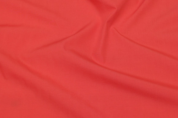 Lightweight cotton in coral-color