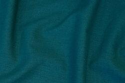 Linen in dark petrol-green