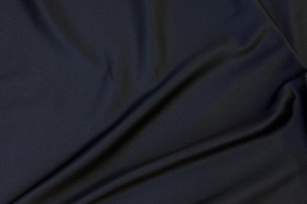 Matte-black stretch-satin