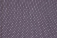Mouse-grey cotton with 1 mm white dot