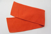 Polo neck rød 7 x 38 cm