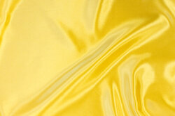 Polyester-satin in yellow