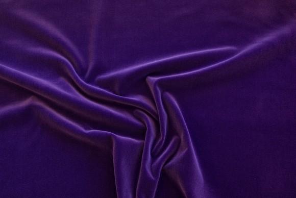 Purple woven velvet
