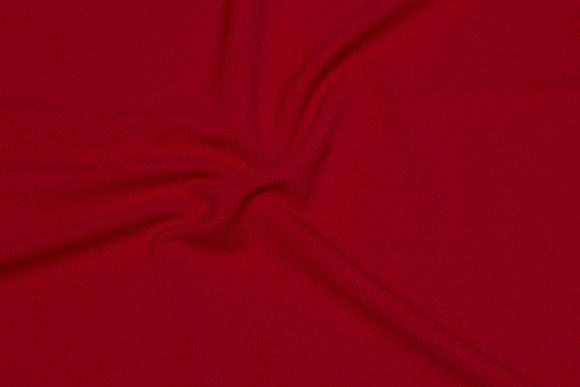 Red, lightweight dress-strechcrepe