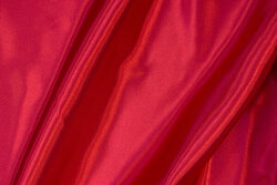 Red polyester-satin