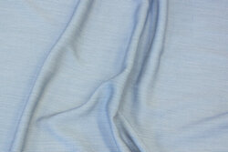 Soft blouse-viscose in very narrow-striped navy and off white