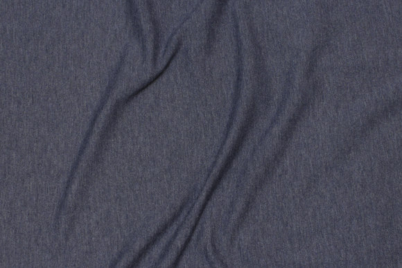 Speckled jersey in dark dove-blue