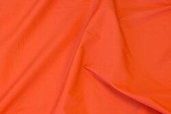 Thin, light coated crinkle pilotnylon in orange