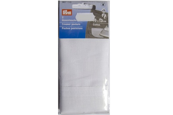 Trouser pockets 2 pcs
