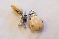 Wodden clip for ribbon 1.5 cm