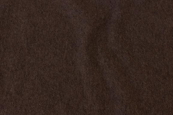 Brown felt wool