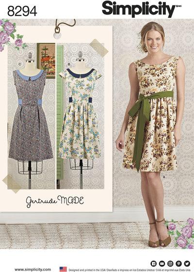 Petite Dress and Sash
