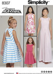 Girls´ and Girl Plus Dress Inspired by Project Runway