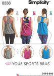 Knit Sports Tops with Back Variations