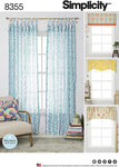 Window Treatments, Fits Windows 39-12 inches Wide x 63 inches Long