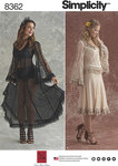 Lace Blouse and Skirt In Two Styles