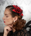 Accessorize in style with vintage-inspired cover-ups, fascinator and hat that can be worn to accompany your everyday look, costume, alternative bridal or other special event.