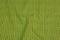 Light green baby corduroy with 1 cm dark green pattern .