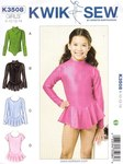 Classic gymnastics suit for girls