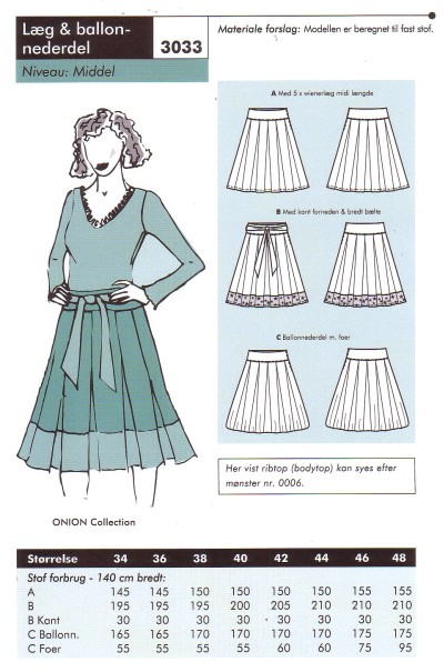 Pleat and baloon skirt
