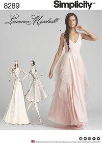 Special Occasion Dresses. Simplicity 8289.